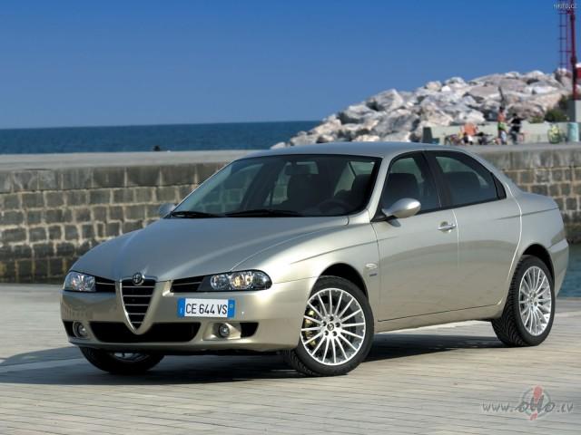 Alfa Romeo 156 foto attēls