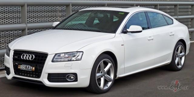Audi A5 foto attēls