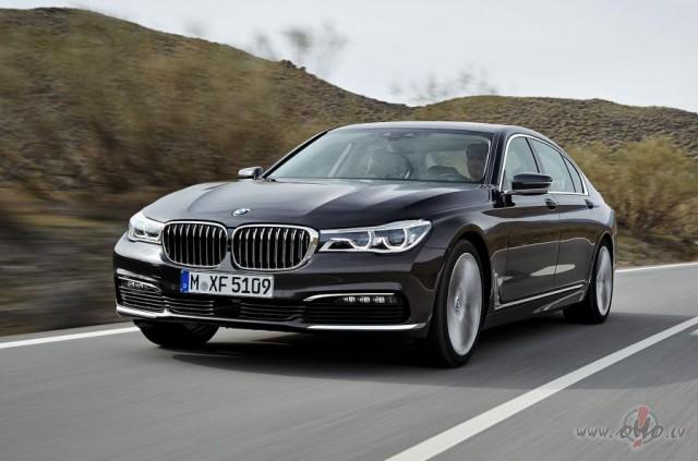 BMW 7 sērija foto attēls