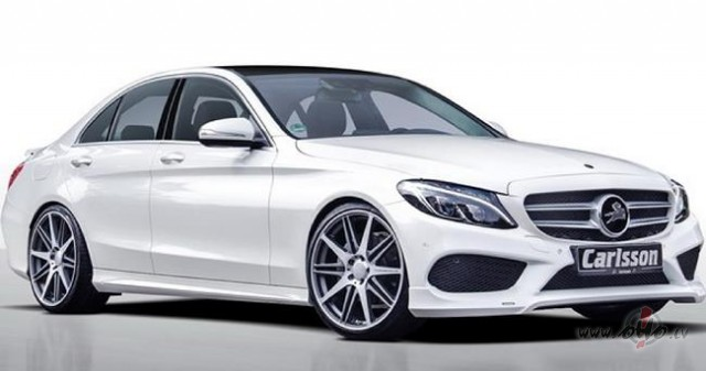 Mercedes C klase foto attēls