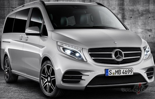 Mercedes V class photo image