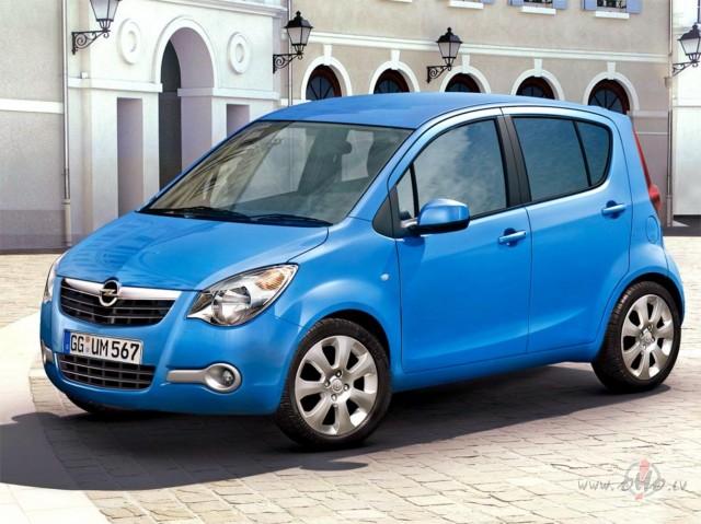 Opel Agila foto attēls