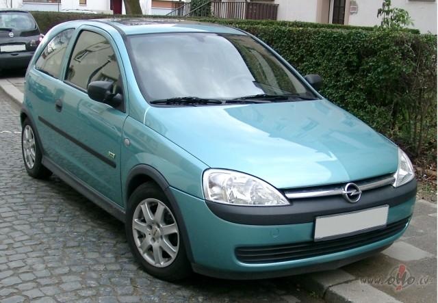Opel Corsa foto attēls