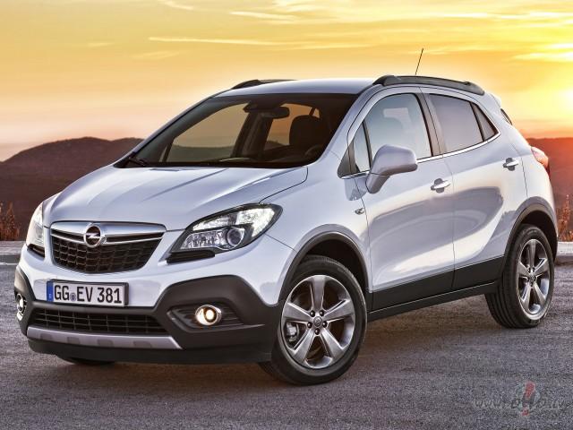 Opel Mokka foto attēls