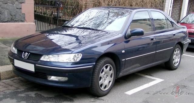 Peugeot 406 foto attēls