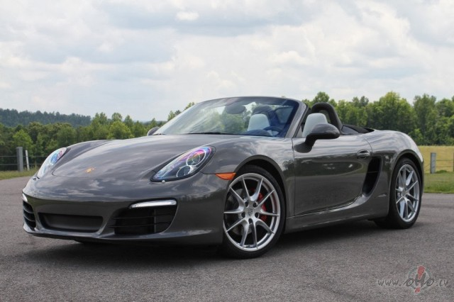 Porsche Boxster foto attēls
