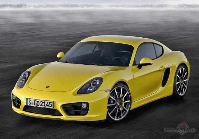 Porsche Cayman foto attēls