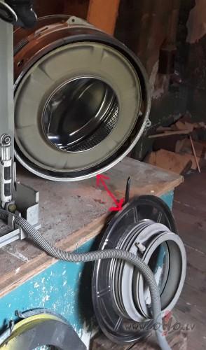 Berzes troksnis veļas automātā foto