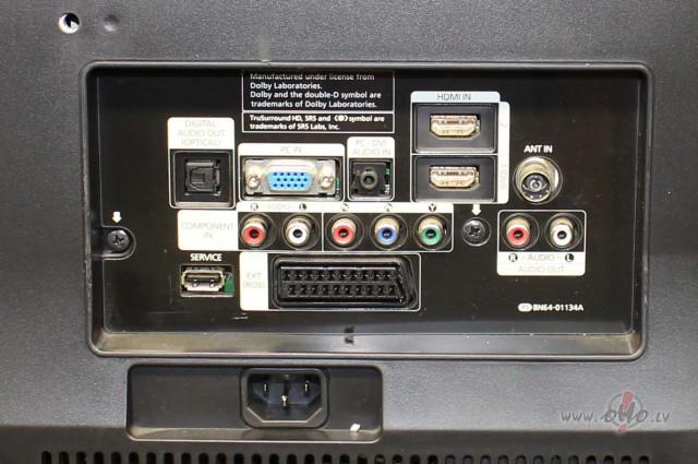 Vai SAMSUNG LE32B530 ir iebūvēts dekoderis? foto