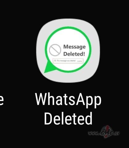 WhatsApp dzēstās ziņas foto
