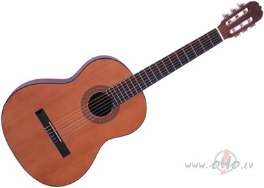Akustiskā un klasiskā ģitāra. foto