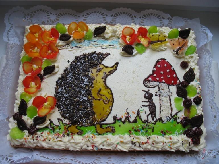 Mājas tortes krēms foto