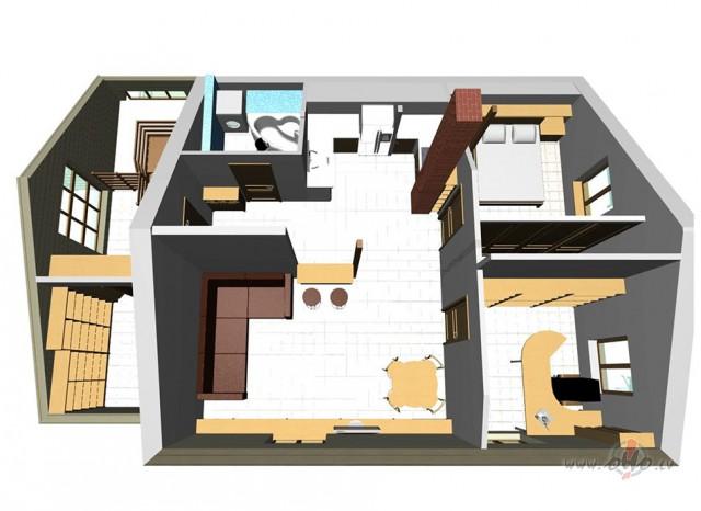 Dzīvokļa dizains foto